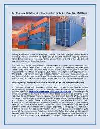 100 Shipping Container Home Sale Buy S For Hamilton Nz To Get Your