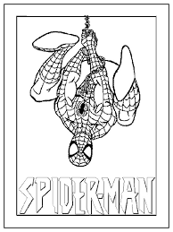 Cool Printable Spiderman Coloring Pages