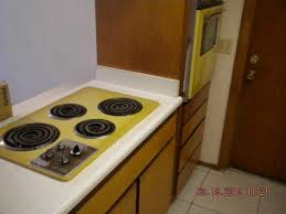 1962 1960s Original Yellow Range Stove Top Oven Kitchen Phoenix Arizona Home House