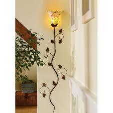 wall lighting find tulip or petal shape sconce and paint the vine