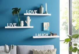 my home wandregal live laugh set 3 tlg dekoregal wanddeko mit schriftzug kaufen otto