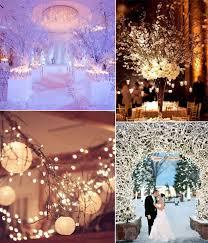 Winter Wedding Decor Ideas With Lights