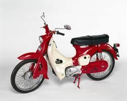 Honda Classic Motorcycles C 50 Moped 1965