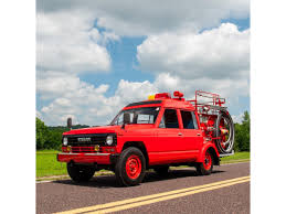 100 Safari Truck 1986 Nissan Fire For Sale ClassicCarscom CC1095142