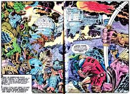 Mindless Ones Blog Archive Beyond The 4th World With Jack Kirby