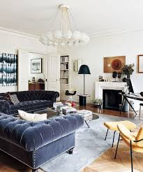 paris themed living room ideas with taste of urban chic flair