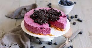 no bake blaubeeren cheesecake bake to the roots