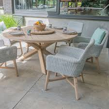 Lisboa Teak Table & Rattan Chair Set By 4 Seasons Outdoor - 4 ... Shop Costway 4 Pieces Patio Fniture Wicker Rattan Sofa Set Garden Tub Chair Chairs Increase Beautiful Design To Your House Rattan Modern Shell Retro Design Outdoor Ding Asmara Oliver Bonas New Black Poly Spa Surround Hot Chic Tropical Cheap Find Deals On Line At Round Fan Lily Loves Shopping Gray Adrie By World Market Products Sets