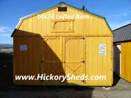 Wood Sheds Idaho Falls by Old Hickory Sheds North Idaho Barns Cabins Garage Storage Id