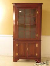 breathtaking corner china cabinet
