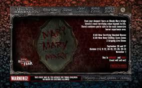 Halloween Horror Nights Hours Of Operation by Hallow U0027d Past Past Hhn Websites Horror Night Nightmares