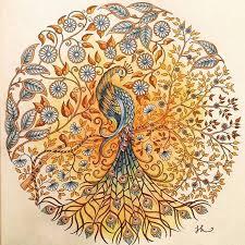 Secret Garden Salainenpuutarha JohannaBasford Kirja Coloring BookSecret