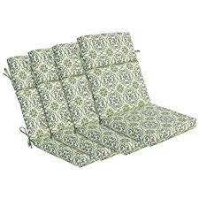 High Back Patio Chair Cushions by Amazon Com Bullnose High Back Outdoor Chair Cushion 4