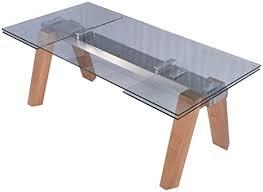 kawola esstisch mounty glastisch 200 300cm x 100cm