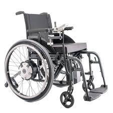 fauteuil roulant manuel avec assistance electrique motorisation e fix pour fauteuils roulants