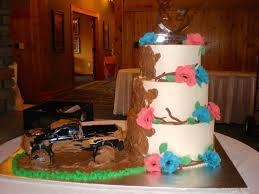 Mud Slinging Truck Wedding Cake -