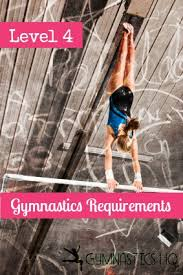 4 gymnastics requirements