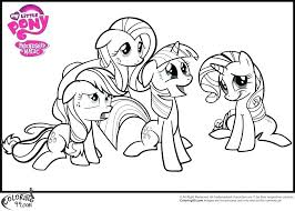 My Little Pony Princess Twilight Sparkle Coloring Pages Lighting Lit Concept