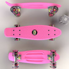 Glow-in-Dark Pink Penny Board Mini Cruiser & LED Light Wheels All Kinds Of Wheels And Related Accsories Maxfind Red Set Tandem Axle Wheel Kit Skateboard Cruiser Longboard Penny Skateboards Raw Skin Surf Shack Mini Board Worker Pico 17 With Light Up Wheels Sportline Will They Shred X The Simpsons Bart 27 Blue Buy At Skatedeluxe Battleship 32 Wtrmln Nickel Hundreds Skater Hq Skatro White Boards Theeve Csx V3 Trucks In Atbshopcouk