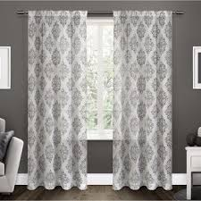 Target Curtain Rod Ends by Bay Window Curtain Rods Target