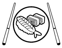 Sushi Coloring Pages S Kawaii