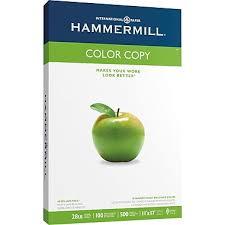 Enjoyable Staples Color Copy HammerMill Digital Paper 11 X 17 Ream