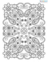 Rectangular Coloring Page Design