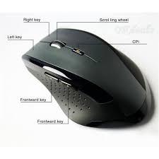 souris pour ordinateur de bureau souris sans fil 2 4 ghz mini computer gaming mouse pour ordinateur