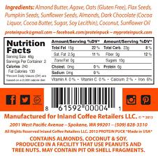 Pumpkin Seeds Low Glycemic Index by Amazon Com Protein Puck Bar Original Peanut Butter Flavor