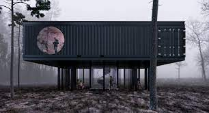 104 Shipping Container Design Capsa Collaborates For Off Grid Office