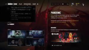 ocp siege rainbow six siege outbreak