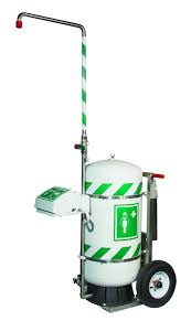 Flammable Safety Cabinet 30 Gallon by Mobile Self Contained Emergency Safety Shower With Eye Face Wash