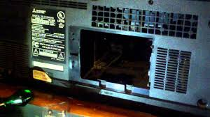 how to replace the l in a mitsubishi wd 57734 hd rp tv