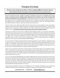 Executive Biography Sample Leadership Example Professional Writers
