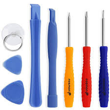 Fosmon 8 pc Tool Kit includes 5 Point Pentalobe Screwdriver for