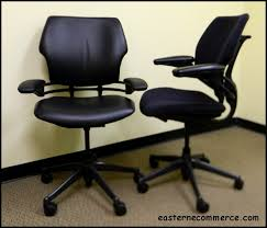 Human Scale Freedom Chair Manual by Used Humanscale Freedom Task Chair Black Vinyl