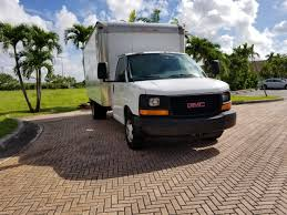 GMC Box Truck - Straight Trucks For Sale