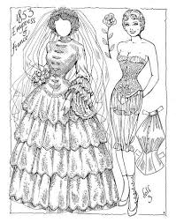 Victorian Brides Paper Dolls By Charles Ventura Find This Pin And More On Adult Coloring Pages