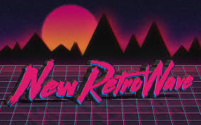 Illustration Digital Art Neon Typography Text New Retro Wave Sign Vintage 1980s Synthwave Shape Computer