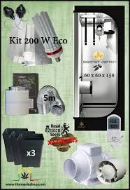 kit complet chambre de culture pas cher kit chambre de culture pas cher cannapower grow your seeds eco