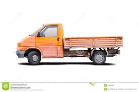 Small Truck Stock Photo. Image Of White, Small, Shipping - 34951952
