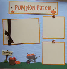 Southern Ohio Pumpkin Patches by Premade 12x12 Scrapbook Pages Pumpkin Patch Layout Fall