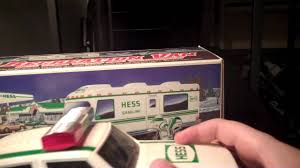 1998 Hess Truck - YouTube Amazoncom Hess 1997 Toy Truck With 2 Racers Toys Games Toys Values And Descriptions Set Of 16 Hess Miniature Trucks 1998 To 2013 Nib 1869019 Trucks Lot 1999 2000 2001 New In The Box For Recreation Van Dune Buggy 3 Pin Back Button On Sale With Motorcycle Ebay Posts Facebook Tanker Truck First In A Series Mib Tanker This Is The First Mini Knock Off Truck Youtube Trucks Roll Out Every Winter Bring Joy To Collectors