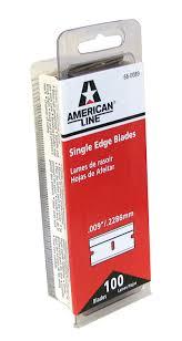 Razor Blade Found In Halloween Candy 2013 by Amazon Com American Safety Razor 66 0089 Single Edge Razor Blade