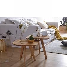 zweisatztisch olpe wildeiche massiv geölt 2 tische stubentisch wohnzimmer
