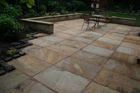 Jeffrey Court Outer Banks Mosaic Tile by Lostock Hall Sandstone Patio Jpg 3888 2592 Garden Ideas