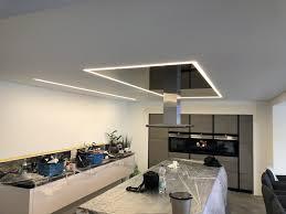 lackspanndecken und lichtdecken für ihre küche cbspanndecken