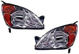 honda crv replacement headlight unit 1 pair automotive