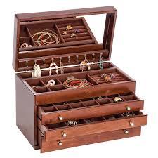 brigitte wooden jewelry box mele u0026 co