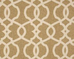 Moroccan Lattice Curtain Panels by Beige Drapes Etsy